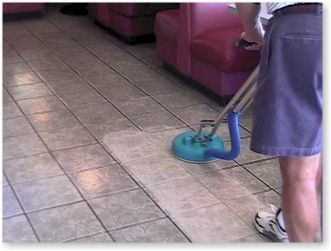 Turbo Floor Cleaning Diner